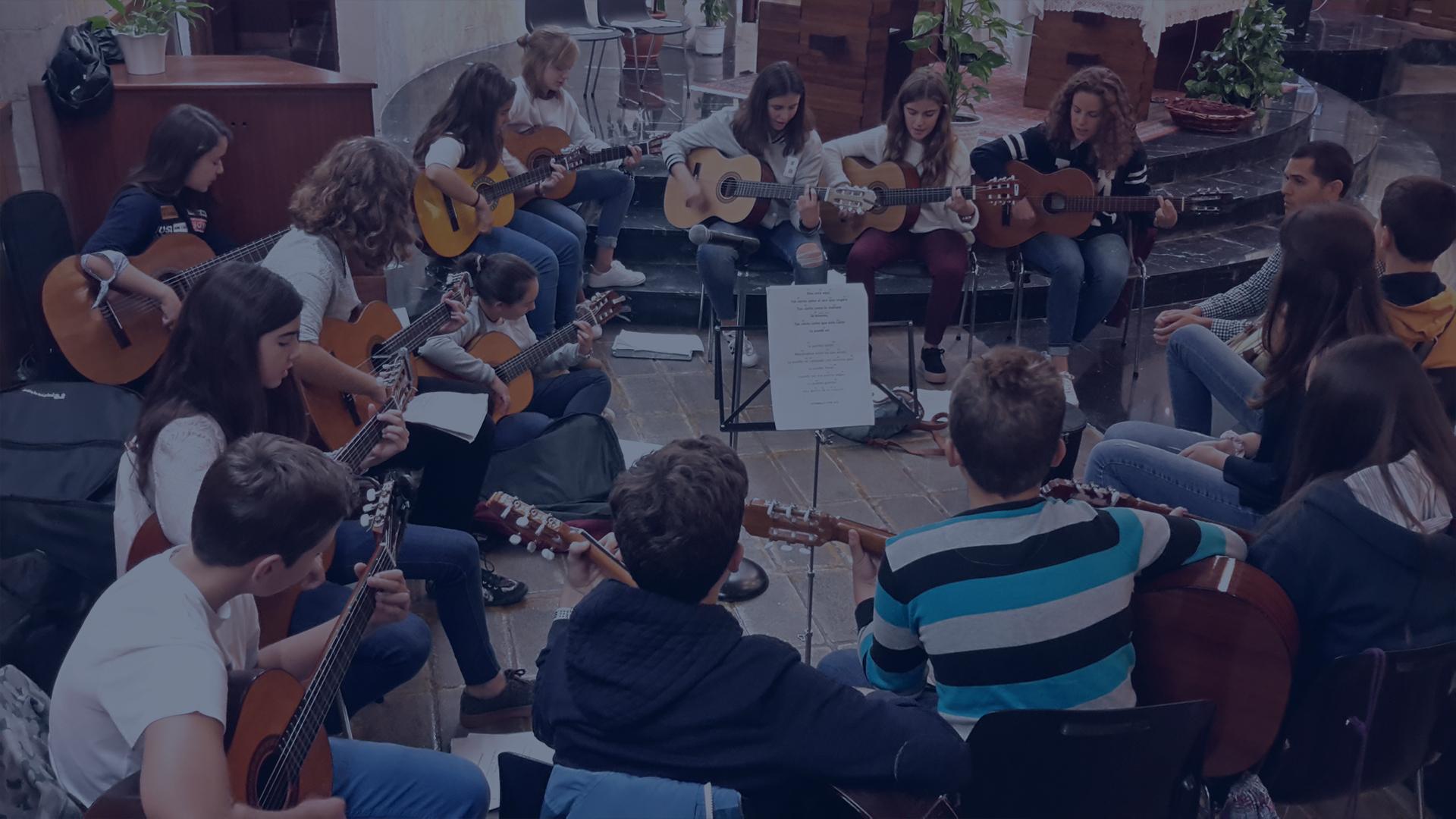 Guitarras foto inicio pastoral