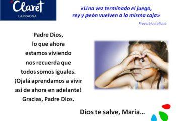 27 de marzo - Oración