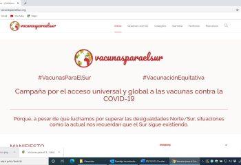 Campaña vacuna para el sur